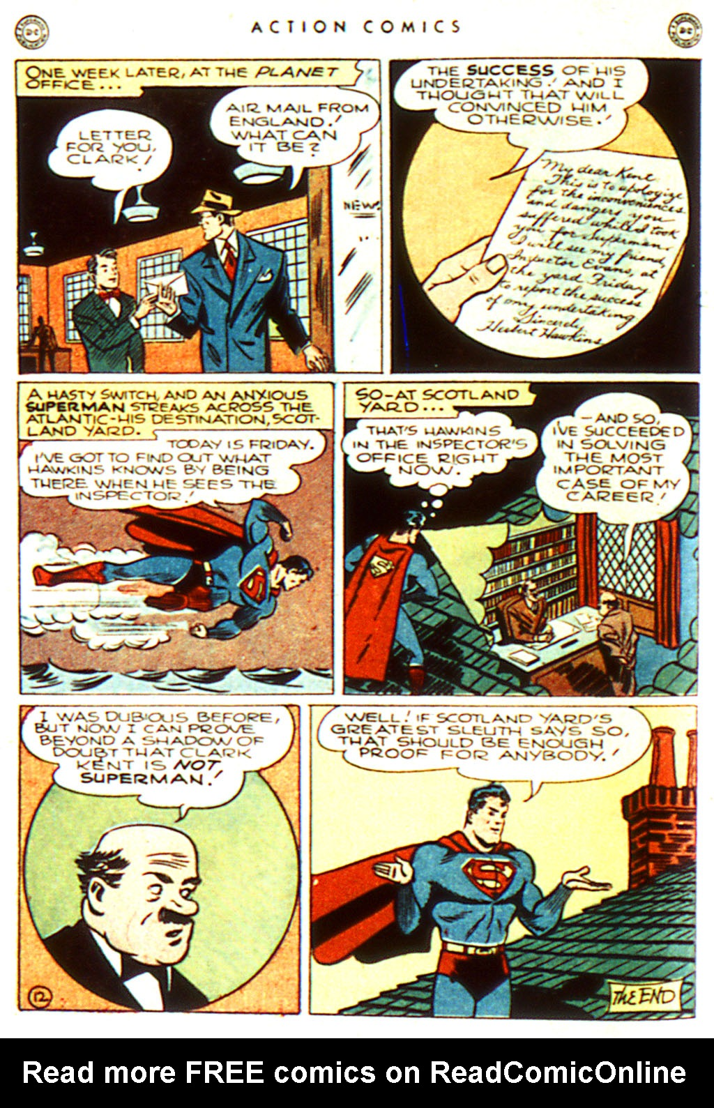 Read online Action Comics (1938) comic -  Issue #100 - 14