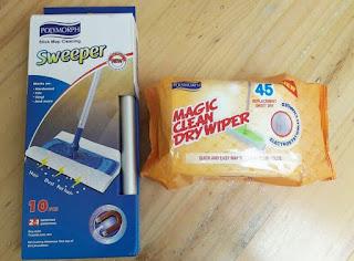 Alat Pembersih Lantai Ajaib Magic Clean Dry Wiper
