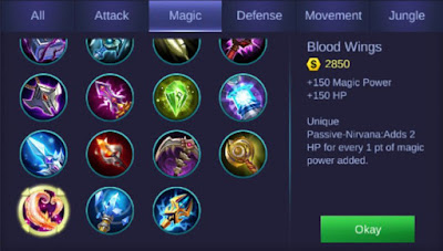 build item mobile legends
