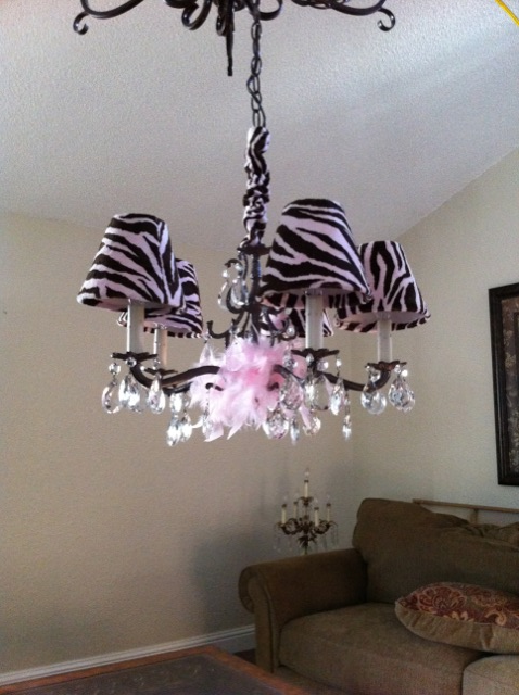 Designed This Chandelier For A Baby Nursery