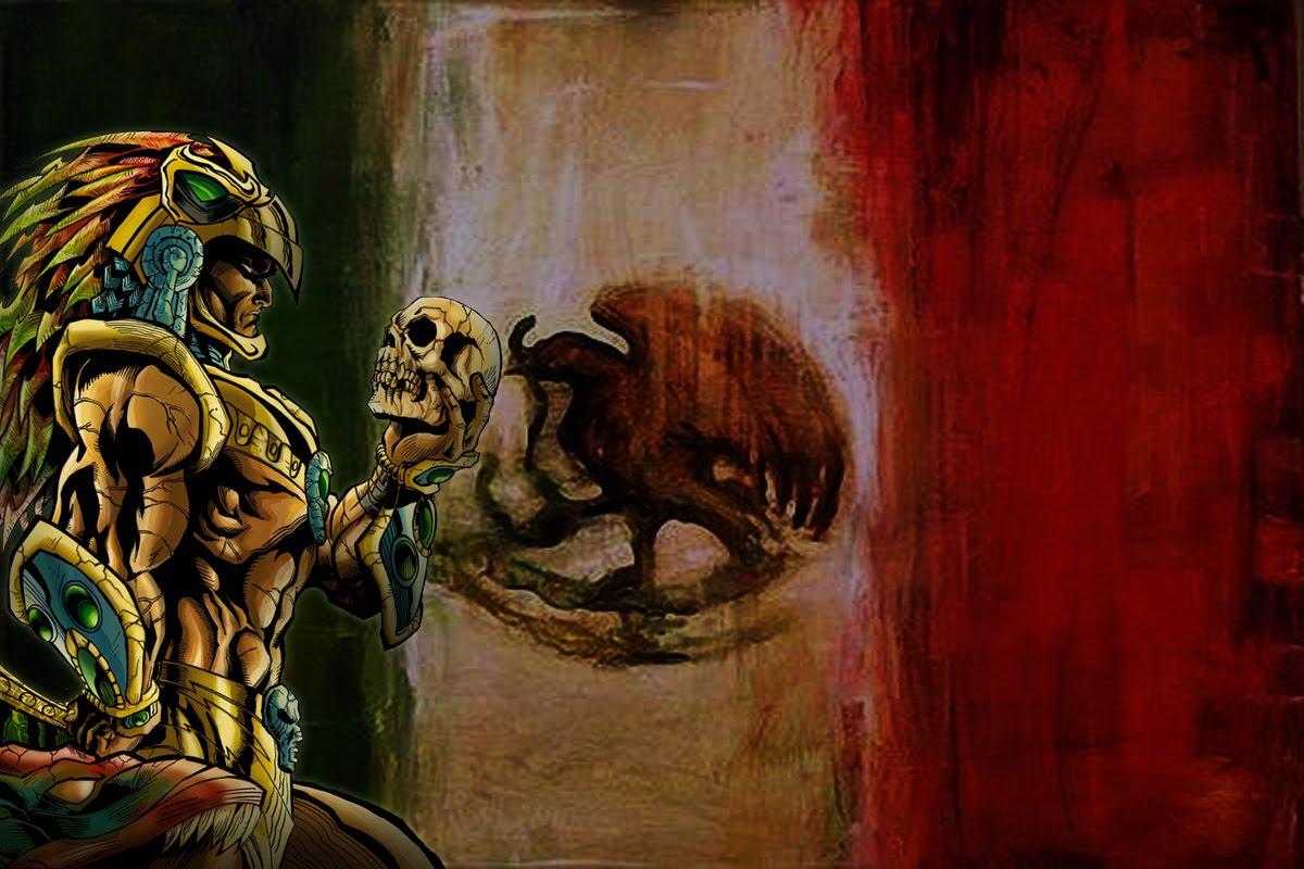WALLPAPERS: guerrero azteca