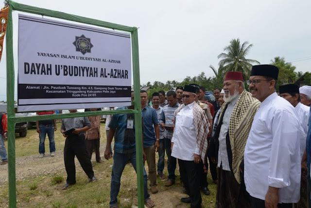 Bantu Rp700 Juta, Gubernur Aceh Resmikan Dayah U'budiyyah