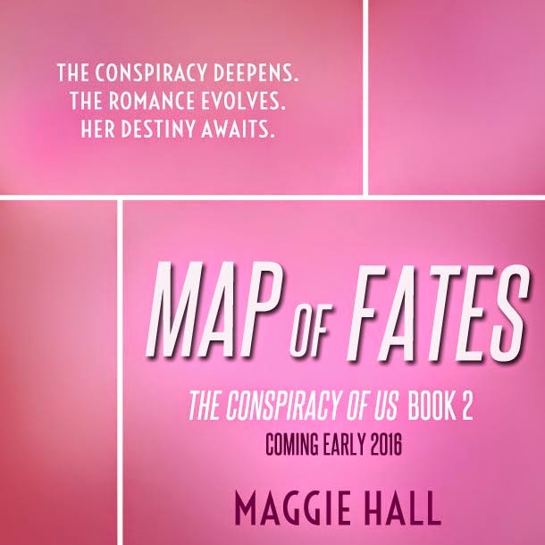 The Conspiracy of Us Book 2 - Map of Fates