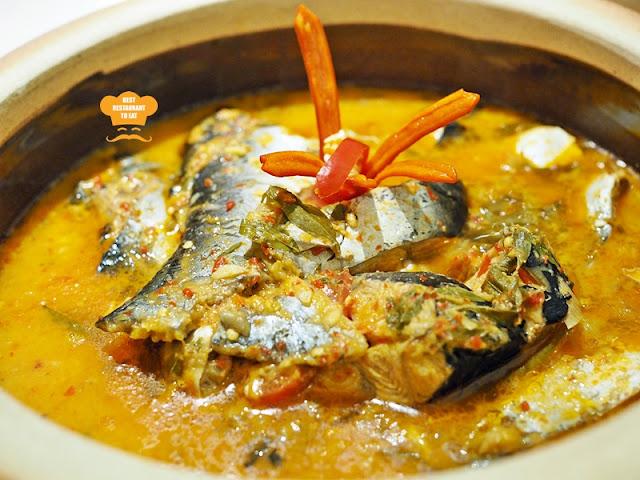 Ramadhan Buffet 2018 Cobalt Room Ritz Carlton Kuala Lumpur Ikan Patin Masak Tempoyak from Pahang
