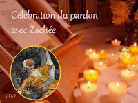 Caté 2014. Célébration du pardon avec Zachée