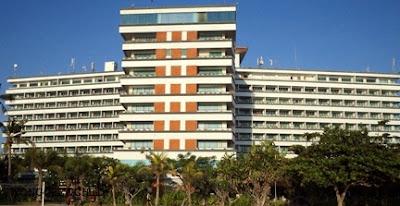 lokasi hotel di pantai sanur bali