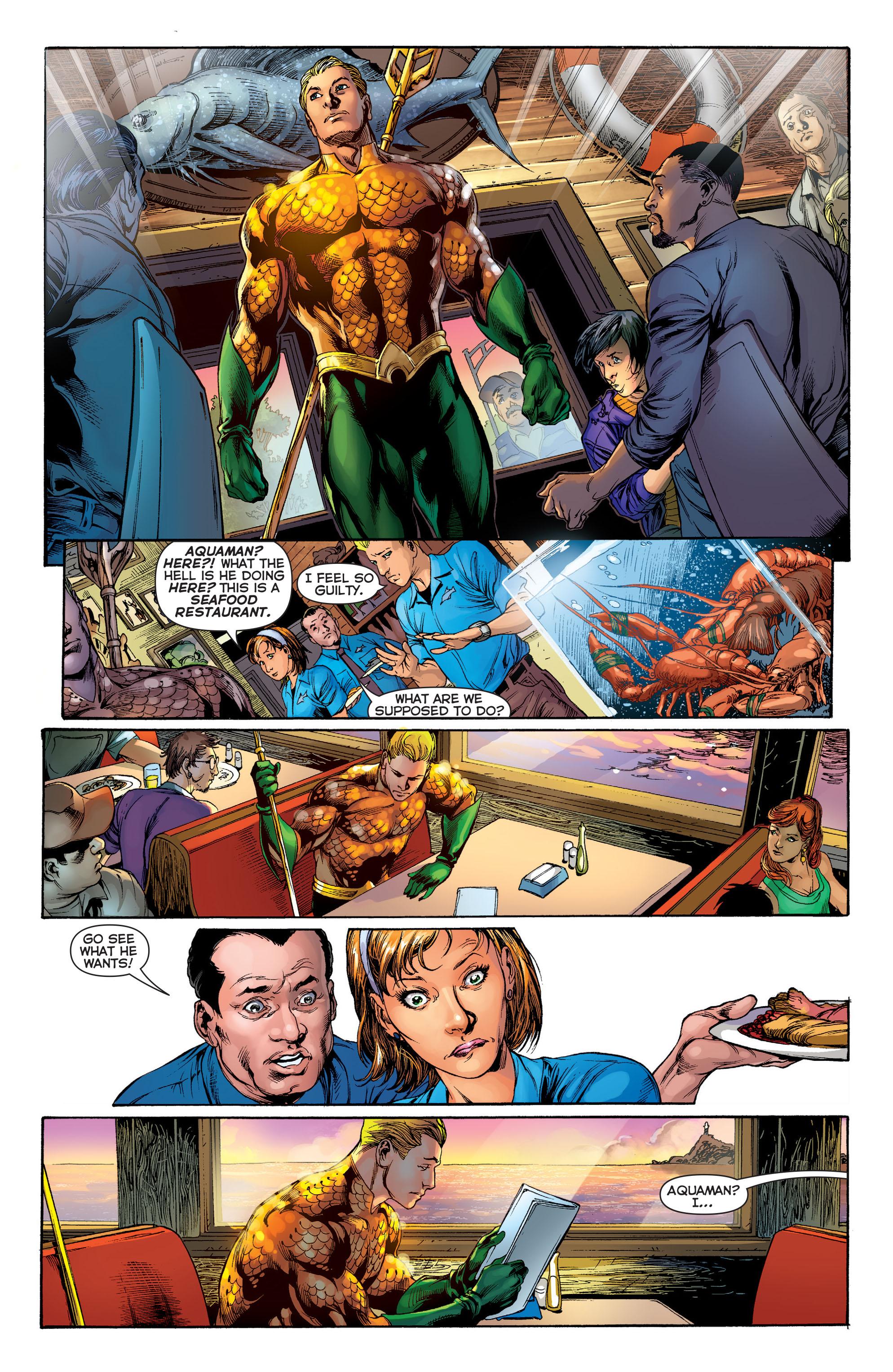 Read online Aquaman (2011) comic -  Issue #1 - 13