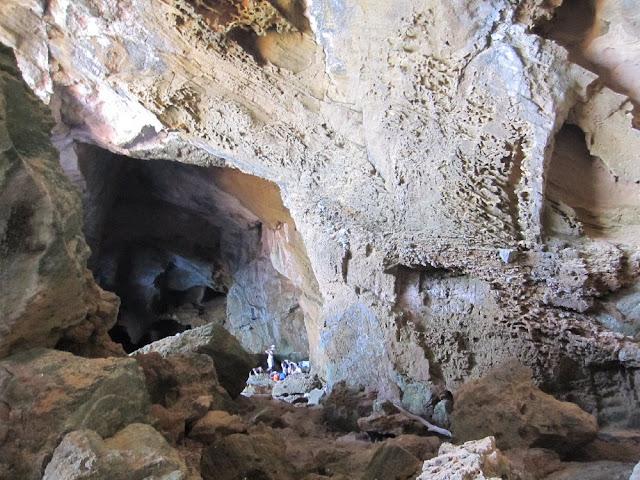 Sala principal de la Cova Tallada