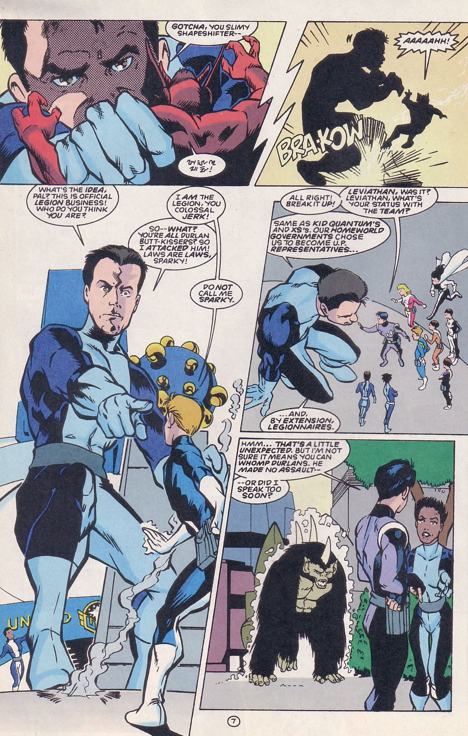 Legion of Super-Heroes (1989) 62 Page 7