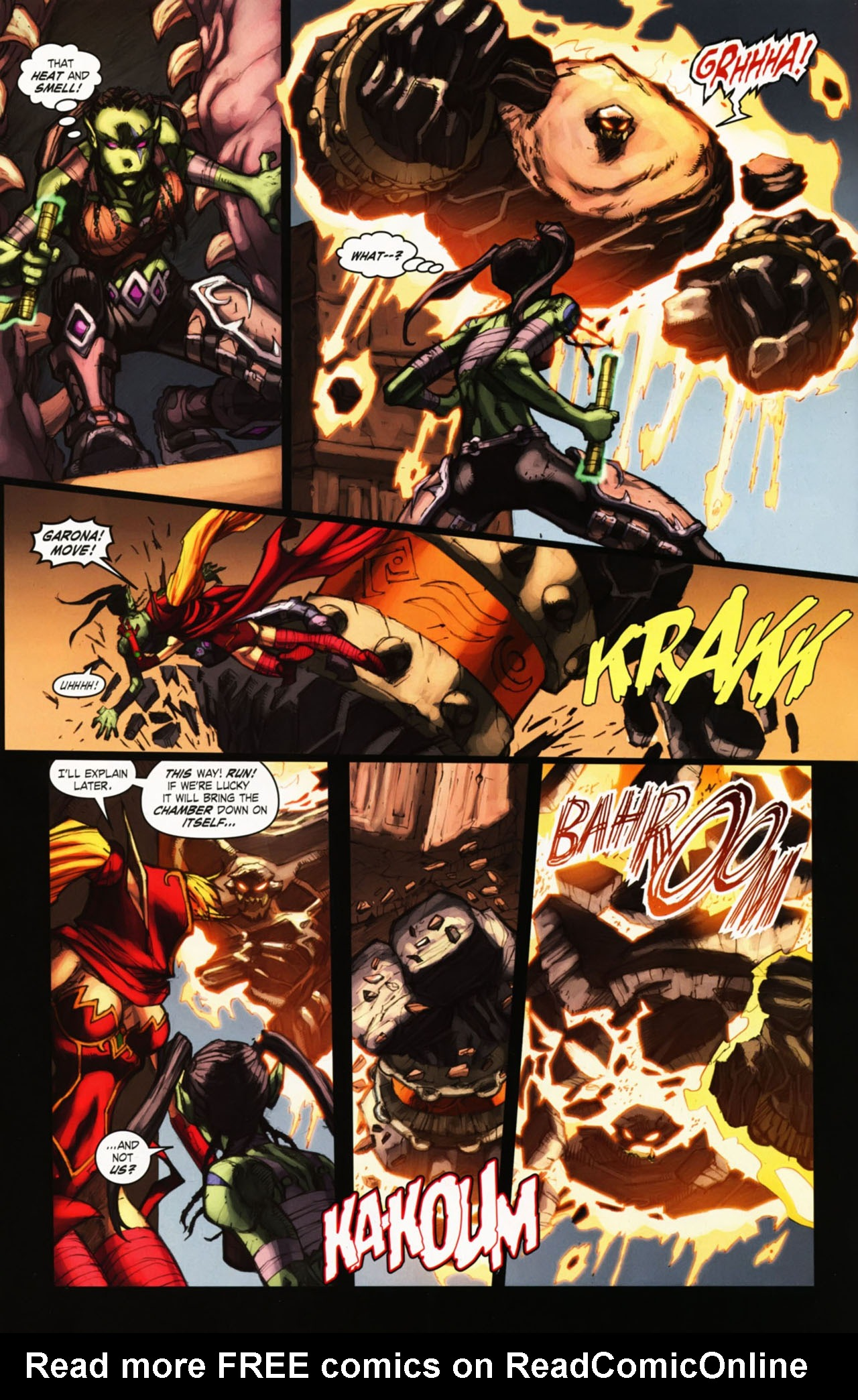 Read online World of Warcraft comic -  Issue #25 - 11