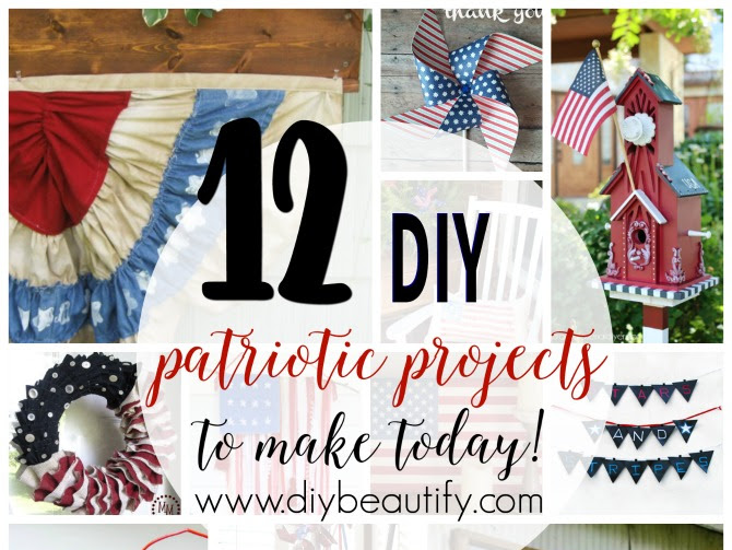 Patriotic DIY Projects for the Home