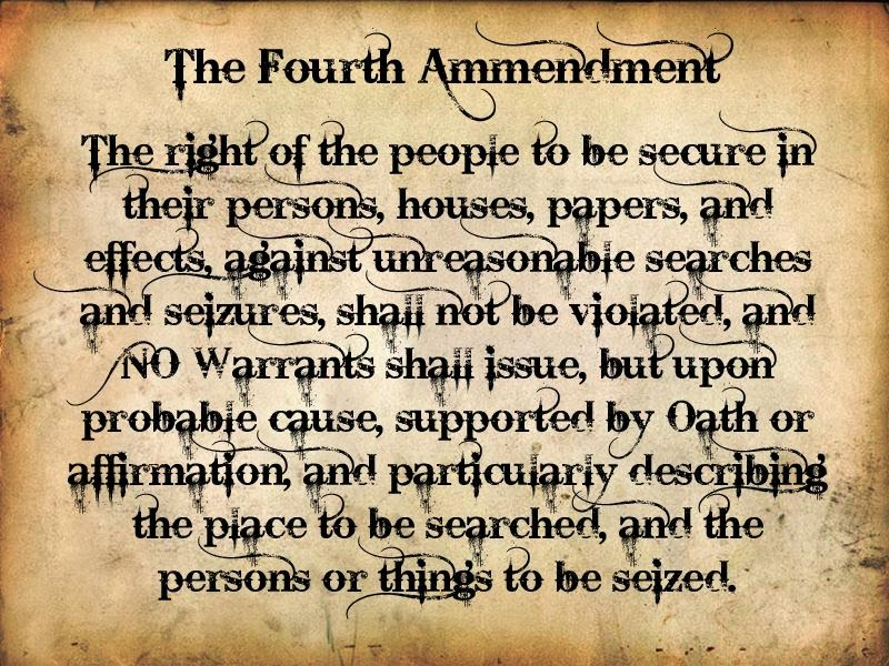 Image result for The Fourth Amendment