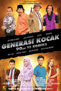 Download Generasi Kocak: 90-an vs Komika (2017) Full