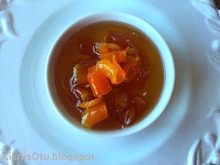portakal, reçeli, tarifi, kişniş, otu, yapılışı