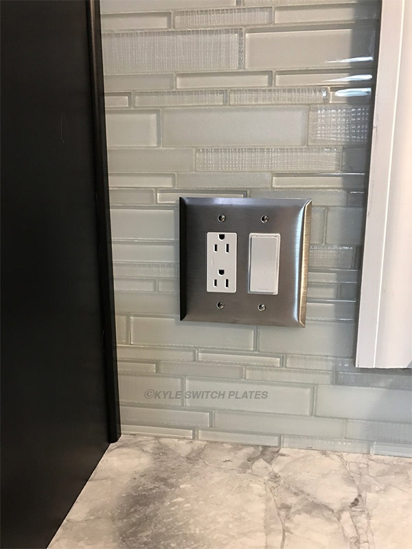 Stainless Outlet Covers : stainless, outlet, covers, Switch, Plates:, Stainless, Steel, Nickel, Plates, Difference