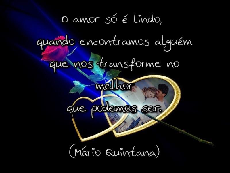 O Amor Só é Lindo Quando Encontramos Alguém Que Nos