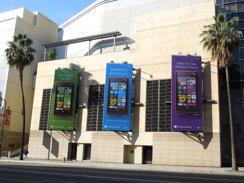 Windows Phone billboards Hollywood