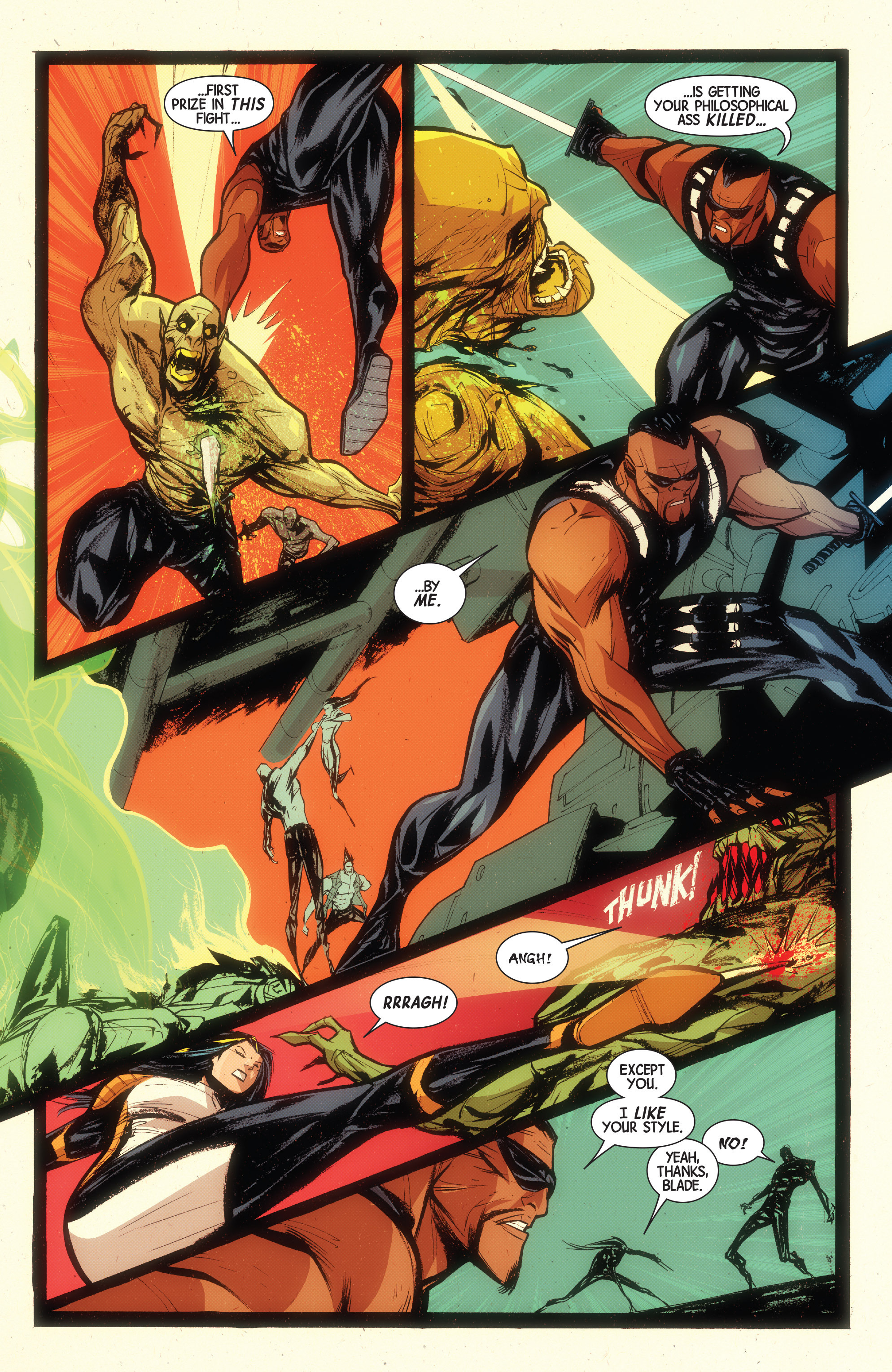 Read online Wolverines comic -  Issue #15 - 4
