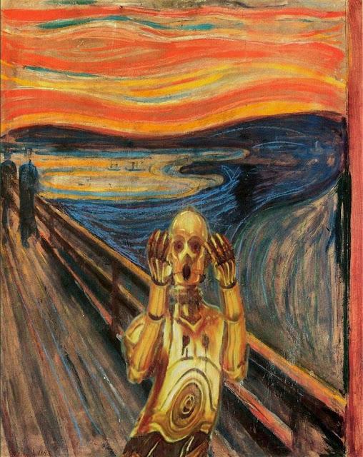 El grito de Munch - Versión C3PO