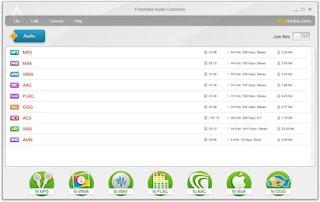 تحميل, احدث, اصدار, لمحول, الصوتيات, Freemake ,Audio ,Converter, مجانا