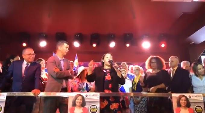 Senadora dominicana admite alianza y lealtad a republicanos acusando a Espaillat de querer destruirla