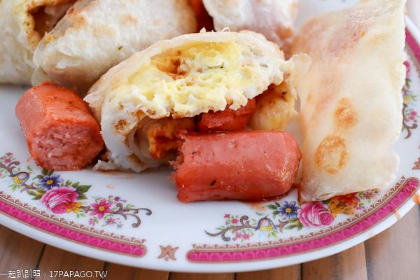 光慧蔬食早午餐|台中太平中西式平價素食|水煎包|飯糰|漢堡|蛋餅