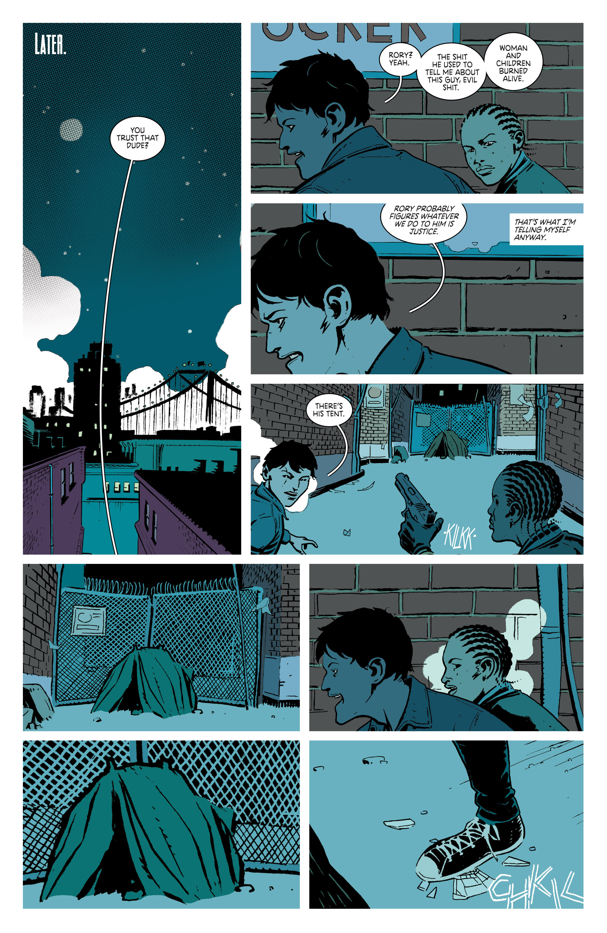Read online Deadly Class comic -  Issue #3 - 13