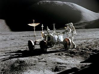 Los astronautas del Apolo oyeron 'música rara' en la cara oculta de la Luna