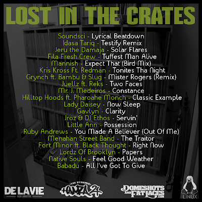 The Dynamic Hamza 21® - Lost In The Crates - Tracklist
