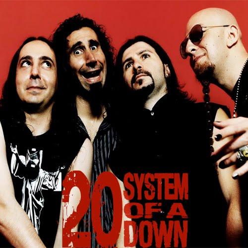 the jungle of rock n roll as 20 melhores músicas do system of a down