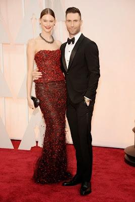 Adam Levine Oscars 2015