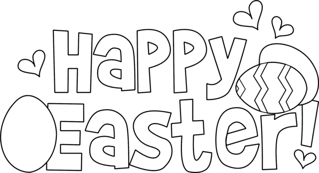 Free Easter Coloring Pages 2021 (1)