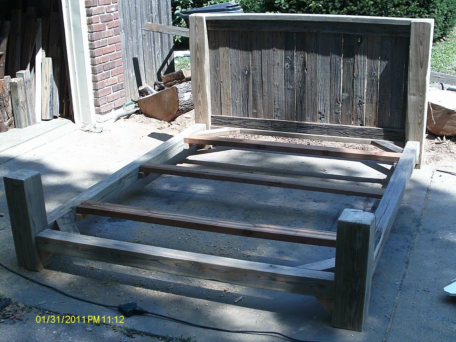Handmade Rustic Amp Log Furniture Good Start To Finishing A