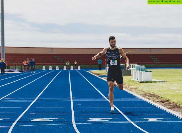 El atleta palmero Samuel García consigue bronce en el Meeting Internacional de Trieste