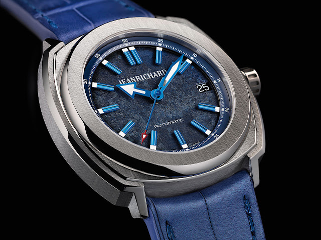 Jeanrichard Terrascope 39 mm Automatic Watch