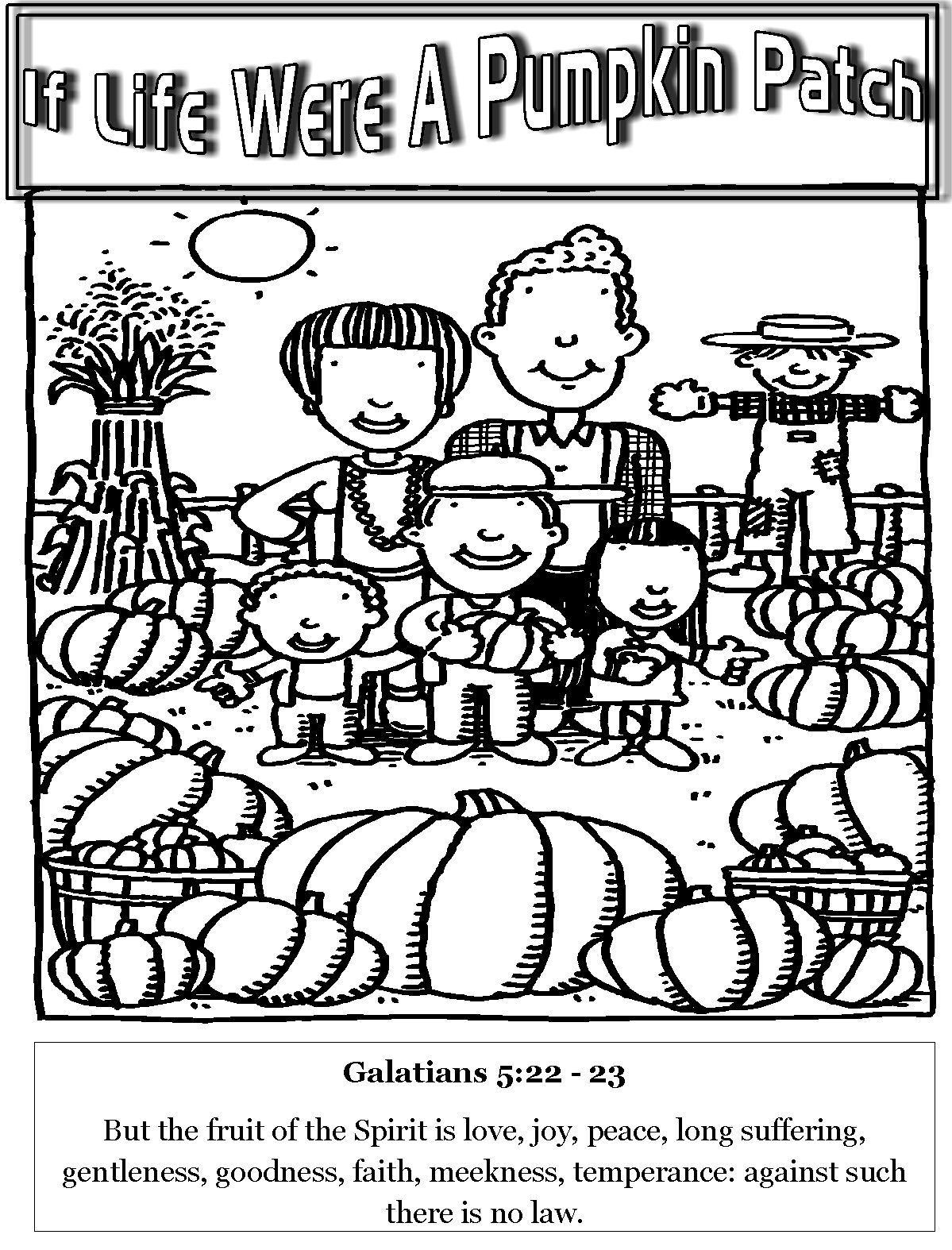 pumpkin patch coloring pages – lifewiththepeppers.com | 1574x1199
