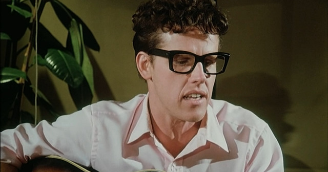 Image result for GARY BUSEY IN THE BUDDY HOLLY STORY