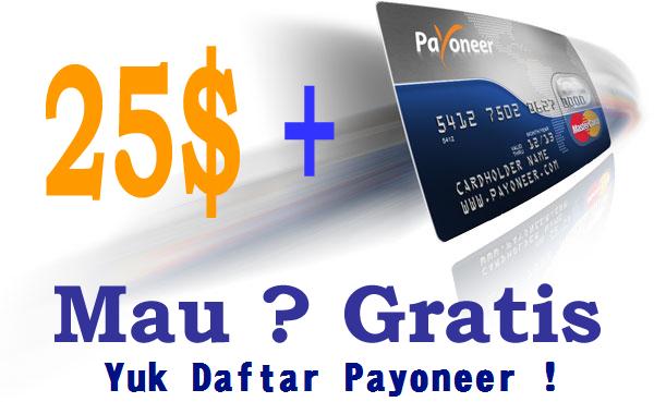 Cara Daftar Payoneer.com dengan lengkap dan Cara Aktivasi Kartu Payoneer | Cara Daftar dan Mendapatkan Dollar dari Payoneer