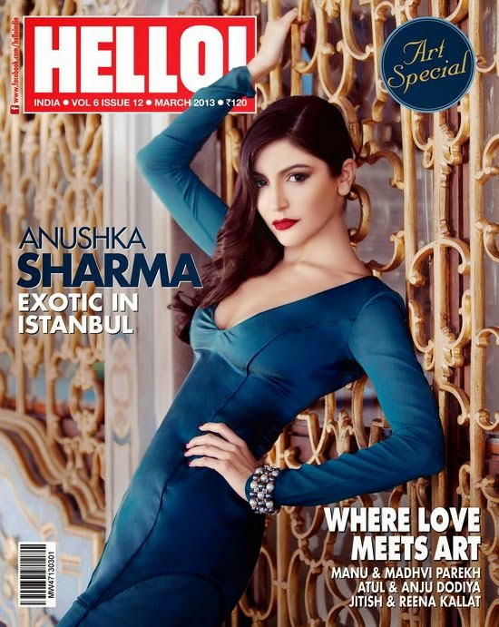 Anushka Sharma in Hello India Magazine