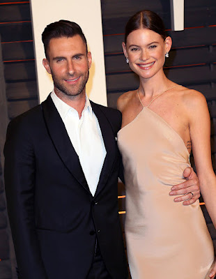 Adam Levine and his Namibian Model wife Behati Prinsloo
