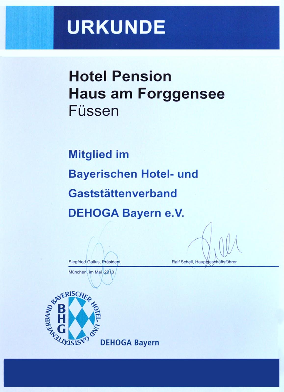 Heidrun vom Bovert Das Gästehaus am Forggensee