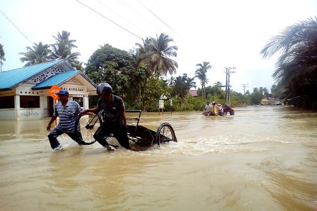 Teunom, Aceh Jaya Banjir Lagi