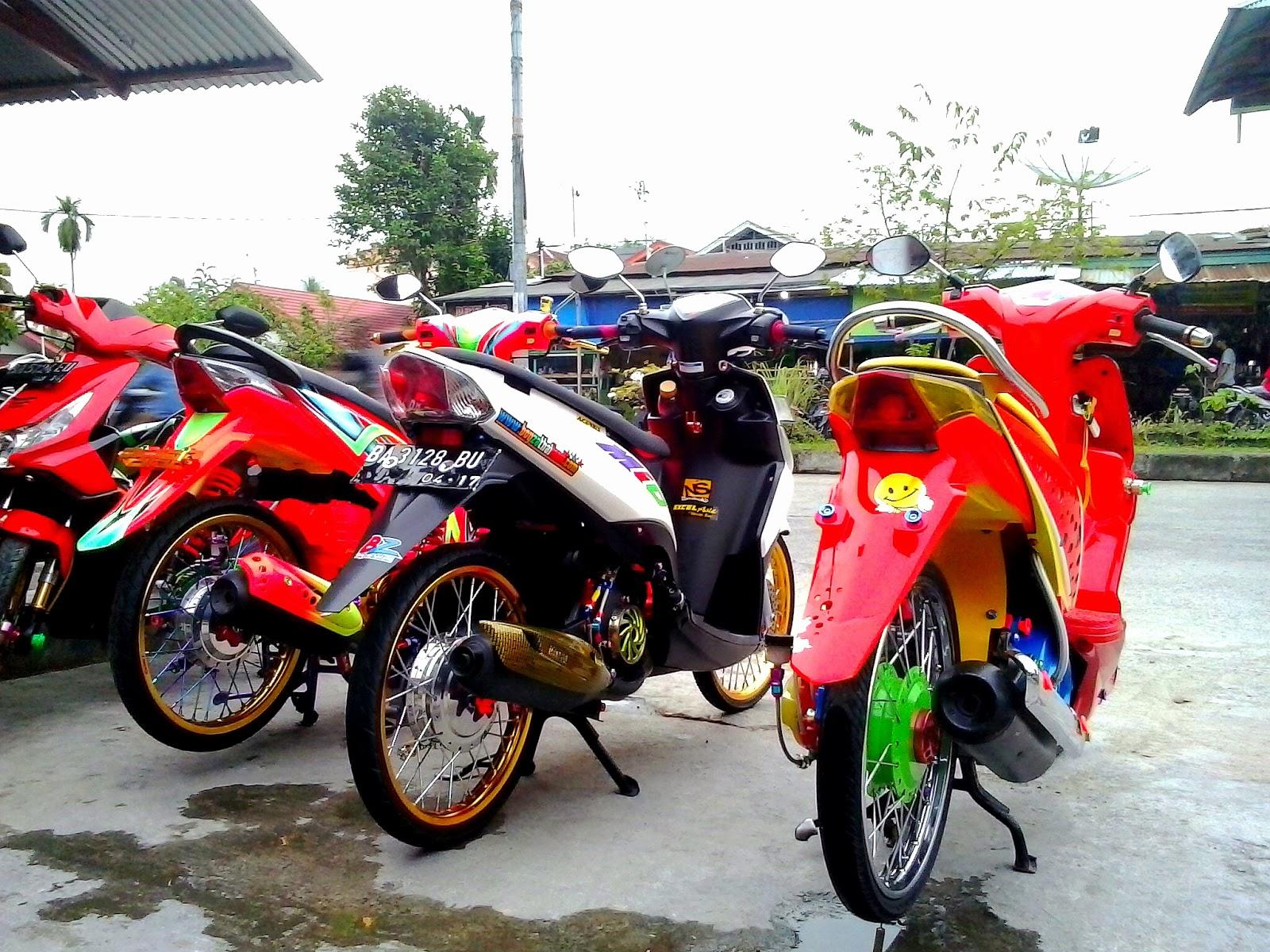 Modifikasi Motor Mio Sporty Thailook Pecinta Modifikasi