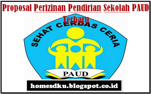Proposal Perizinan Pendirian Sekolah PAUD Terbaru
