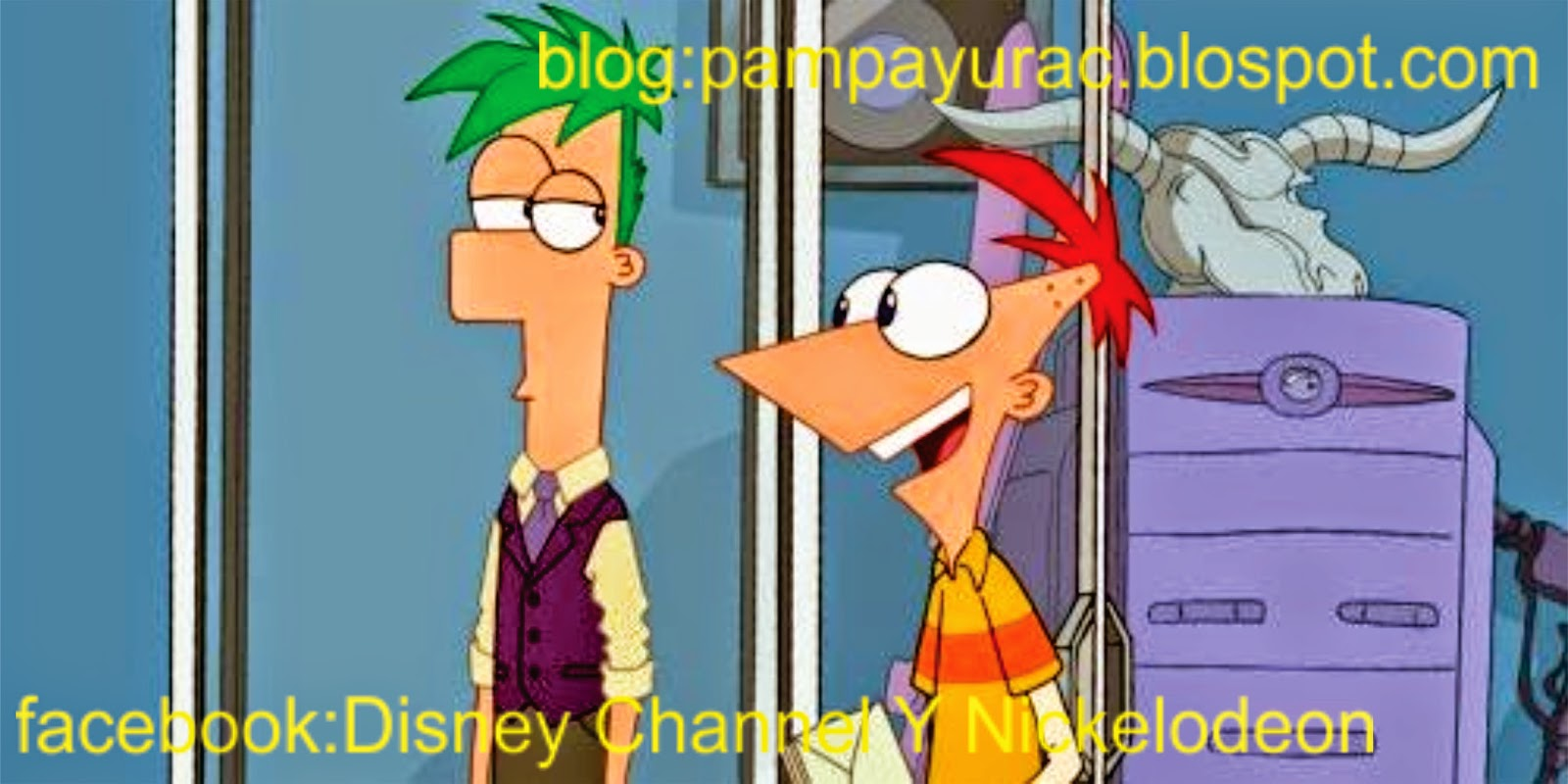 Colorea A Phineas Y Ferb Personajes De Disney Channel: Phineas And Ferb: Act Your Age: Disney XD Revela Videos