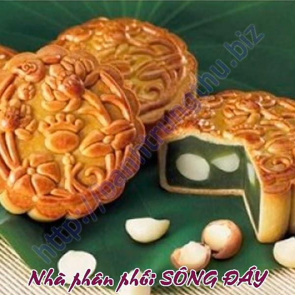 Bánh trung thu Kinh Đô hạt sen trà xanh 2 trứng chiết khấu cao