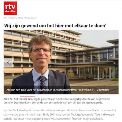 Klik voor nieuwsitem op RTV Drenthe
