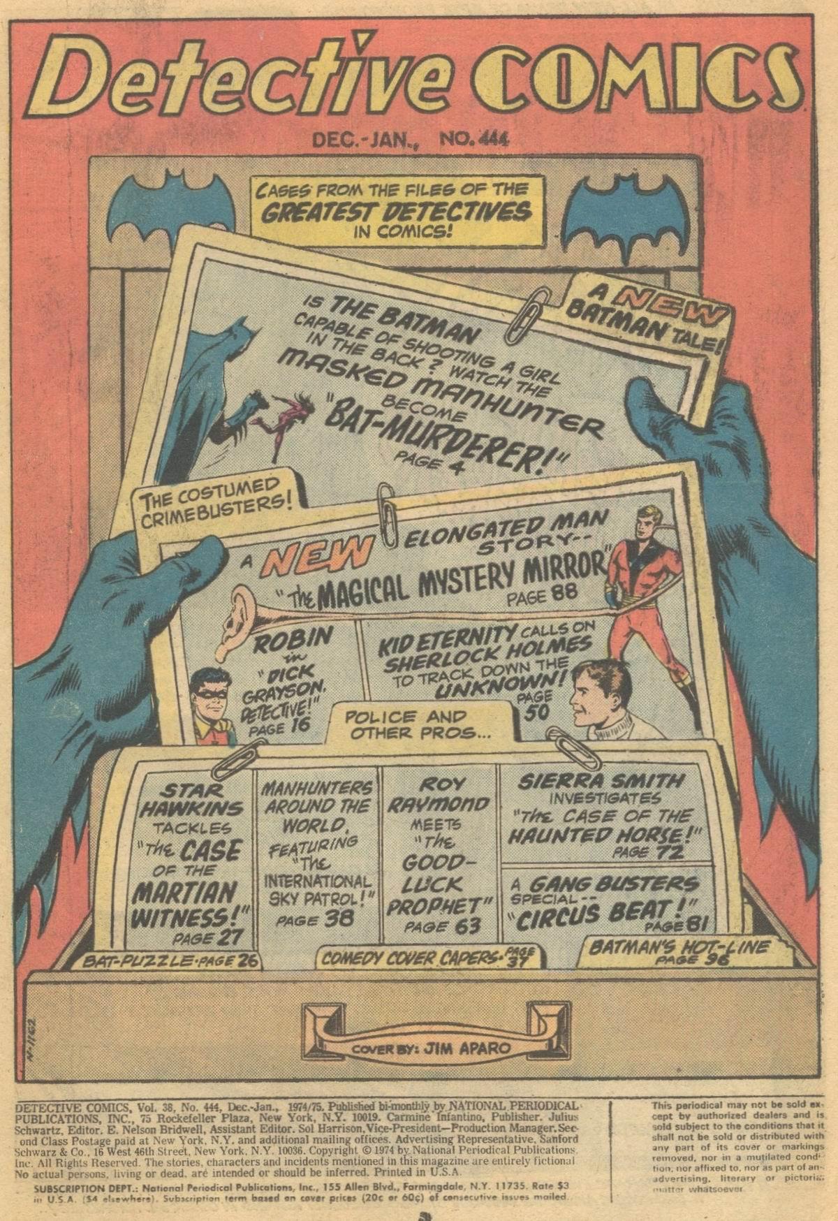 Detective Comics (1937) 444 Page 2
