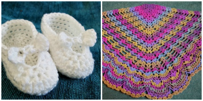 crochet-baby-booties-and-shawl-jasmin-handerbeiten