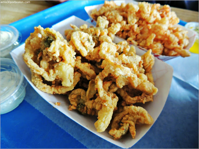 Woodman's of Essex: Clam Strips & Fried Clams
